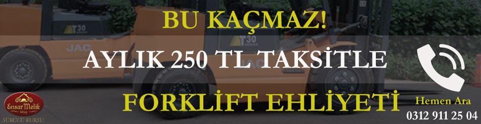 Forklift Ehliyeti Fiyatı