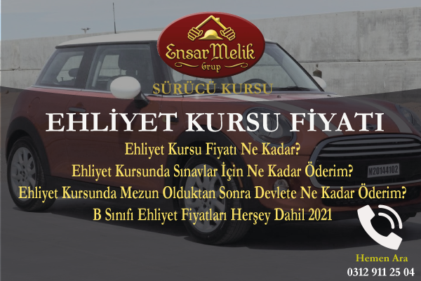 Ehliyet Kursu Fiyatı Ankara Keçiören